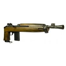 "Inland Mfg ILM200 Advisor M1 Pistol Semi-Automatic 30 Carbine 12"" 15+1 Walnut Black Parkerized Finish"