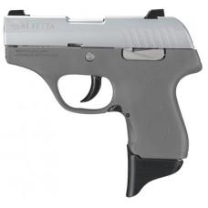 "Beretta USA JMP8D95 Pico 380 Double 380 Automatic Colt Pistol (ACP) 2.7"" 6+1 Gray Polymer Grip/Frame Grip Stainless Steel"