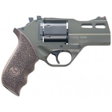 "Chiappa Firearms CF340285 Rhino 30SAR Single 357 Magnum 3"" 6 rd Walnut Grip OD Green"