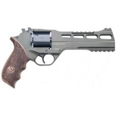 "Chiappa Firearms CF340282 Rhino 60SAR Single 357 Magnum 6"" 6 rd Walnut Grip OD Green"
