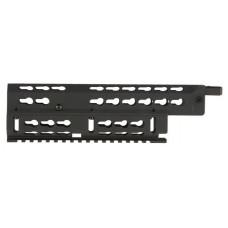 "Aim Sports MKAK03 Russian AK Rifle Medium Keymod Handguard 6061-T6 Aluminum Black Hard Coat  Anodized 9.6"""