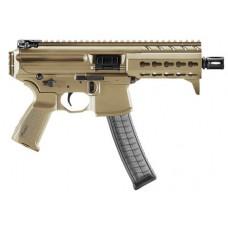 "Sig Sauer MPXK9KMFDE MPX K AR Pistol Semi-Automatic 9mm Luger 4.5"" 30+1  Flat Dark Earth Anodized/Black"