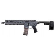 "Sig Sauer PMCX11BTAP MCX Virtus AR Pistol Semi-Automatic 223 Remington/5.56 NATO 11.5"" 30+1 Polymer Gray Receiver/Black Barrel"
