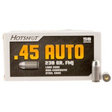 Century AM2042 Hotshot 45 ACP 230 GR Full Metal Case 50 Bx/ 20 Cs