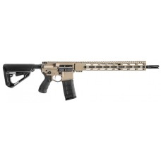 "BCI 510-0001FDE SQS15 Professional Series Semi-Automatic 300 AAC Blackout/Whisper (7.62x35mm) 16"" 30+1 6-Position Blk Stk Flat Dark Earth"