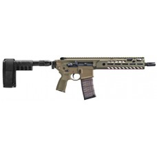 "Sig Sauer PMCX11BTAPFD MCX Virtus Pistol AR Pistol Semi-Automatic 223 Remington/5.56 NATO 11.5"" 30+1 Polymer Flat Dark Earth"