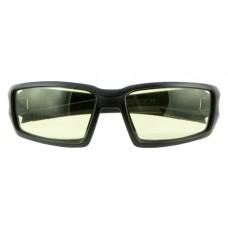 Howard Leight R02221 Uvex Hypershock Eye Protection Black Amber Lens