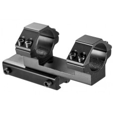 "Barska AW11730 Scope Cantileve Dual Ring Mount 3/8"" Dovetail 22 Grooved Rcvr 1"" Dia Standard Alum Black Matte"