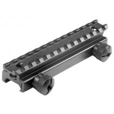Barska AW11143 Riser AR-15 Flattop Rail Style Black Finish