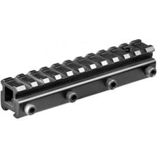 Barska AW11449 Adapter For  Dovetail Style Black Finish