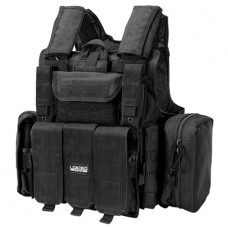 Barska BI12256 VX-300 Tactical Vest Polyester Adjustable Black