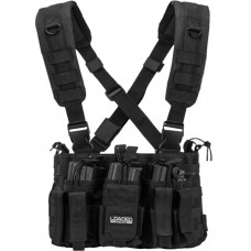 Barska BI12258 VX-400 Tactical Chest Rig Vest Polyester Adult Black