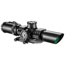Barska AC12138 SWAT-AR 1-6x 32mm Obj 88-26.82 ft @ 100 yds FOV 35mm Tube Dia Black Matte Illuminated Mil-Dot