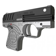 "Heizer CKH45BLK PKO 45 Single 45 Automatic Colt Pistol (ACP) 2.75"" 5+1 Stainless Steel Grip/Frame Black"