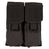 Blackhawk 37CL03BK Double Mag Pouch M4/M16 Black Cordura Nylon