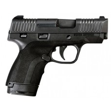"Honor Defense HG9SC Honor Guard Sub-Compact Double 9mm +P 3.2"" 7+1/8+1 Black Polymer Grip Black"