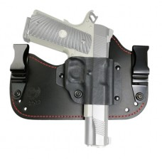 Flashbang 94101911310 Capone Red Stitch Fits Most 1911 Style Autos Leather/Thermoplastic Black/Red