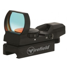 Firefield FF13004 Reflex 1x 33mm Obj Unlimited Eye Relief Multi-Reticle Blk