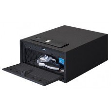 Stack-On QAS1512B Quick Access Safe Biometric Lock 10 x 12.15 x 8 Black