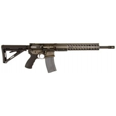 "DRD Tactical CDR15BW556 CDR-15 Quick Break Down Semi-Automatic 223 Remington/5.56 NATO 16"" 30+1 Magpul MOE Black Stock Battle Worn"