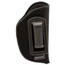 Bulldog DIP-1 Deluxe Inside The Waistband Mini Semi-Auto Pistols Ruger LCP Synthetic Suede Blk