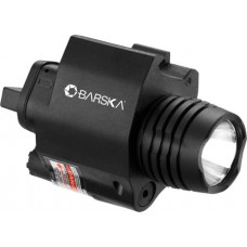 Barska AU12394 Green Laser w/Flashlight Universal w/Picatinny Rail