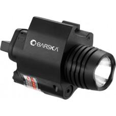 Barska AU12392 Red Laser Sight 200 Lumen Light Universal w/Picatinny Rail