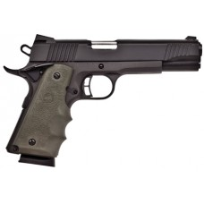 "Citadel CIT45FSPHGRN M-1911 Full Size Single 45 Automatic Colt Pistol (ACP) 5"" 8+1 Green Hogue Grip Blk"