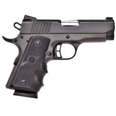 """Citadel CIT45CSPHBLK M-1911 Compact Single 45 Automatic Colt Pistol (ACP) 3.5"""" 7+1 Hogue Grip Blk"""