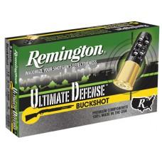 "Remington 12B009HD Ultimate Home Defense 12 Gauge 2.75"" Buckshot 9 Pellets 00 Buck 5 Bx/ 20 Cs"