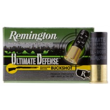 "Remington Ammunition 12B008RRHD Ultimate  2.75"" Buckshot 8 Pellets 00 Buck 5 Bx/ 50 Cs"