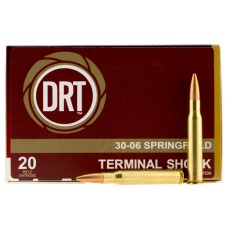 Dynamic Research Tech 00108 Thermal Shock 30-06 Springfield 150 GR Boat Tail Hollow Point 20 Bx/ 50 Cs