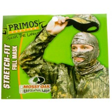Primos 6228 Stretch Fit Full Mask One Size Fits Most Mossy Oak New Break-Up