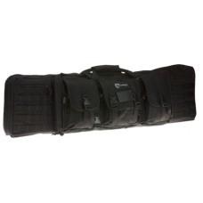 """Drago Gear 12-323BL Tactical Double Gun Case 42"""" 600D Polyester Black"""