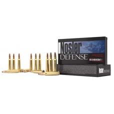 Nosler 39680 Defense Rifle 6.8mm Rem SPC Bonded Solid Base 90GR 20Box/10Case