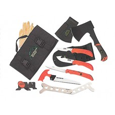 Outdoor Edge OF1 Outfitter Cleaning Kit Multiple 65MN Carbon Steel 8 Piece Set