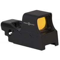 Sightmark SM26005 Ultra Shot 1x 33x24mm Obj Unlimited Eye Relief Multi-Reticle Black Matte