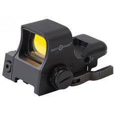 Sightmark SM14003 Ultra Dual Shot Pro Spec NV QD w/Laser 1x33x24mm Obj Unlimited Eye Relief 5 MOA Black Matte