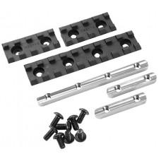 """Samson EVO-2-KIT Evolution Rail Kit 2"""" (2 Rails)  6061-T6 Aluminum 2"""""""