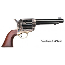 "Taylors 440 1873 Ranch Hand 357 Magnum 4.75"" 6rd Walnut CH Frame Blued"