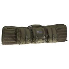 """Drago Gear 12-323GR Tactical Double Gun Case 42"""" 600D Polyester Green"""