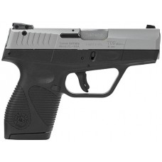 "Taurus 1709039FS 709 Slim Single/Double 9mm Luger 3"" 7+1 Black Polymer Grip Stainless Steel"