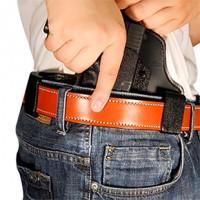 Desantis Gunhide 105KAY8ZO Intruder RH Glock 42/43 Leather Black