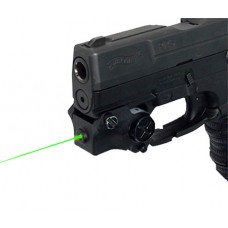 DMA XTS-CGL2 XTS Green Laser Rechargeable Sub-Compact Pistol w/Rail Black