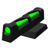 Hiviz NVLW01 Litewave Novak 1911 Pistol Fiber Optic  Green/Red/white