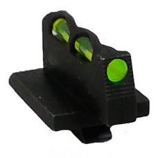 Hiviz GPLW01 Litewave Ruger GP100 Fiber Optic Green/Red/White  Blac