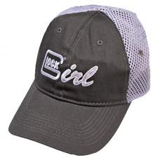 Glock AS00065 Glock Girl Hat Cotton/Mesh Gray/Lavender