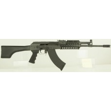 "I.O. IODM2020 AKM247 Tactical Rifle Semi-Automatic 7.62x39mm 16.25"" 30+1 Synthetic Black Stk Black"