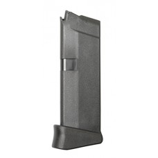 Glock MF08833 G42 380 (ACP) 6 rd Black Finish Finger Extension Mag