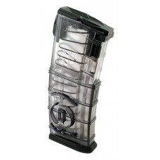 ETS AR1530C AR-15 Magazine w/Integrated Coupler 223/5.56 30rd Translucent Black